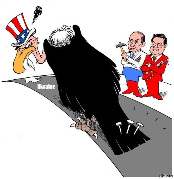 Украина и российско-китайская ось